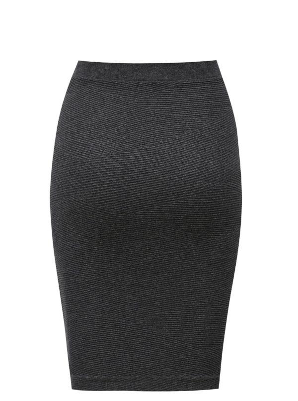 Sivá puzdrová sukňa / top Zizzi
