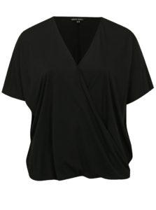Čierne tričko s krátkym rukávom simply be.