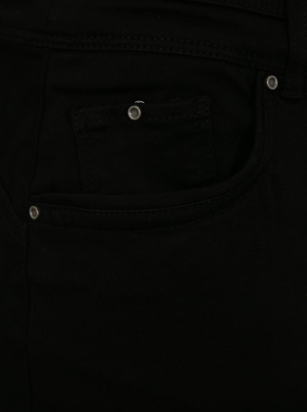 Čierna rifľová push up sukňa simply be.