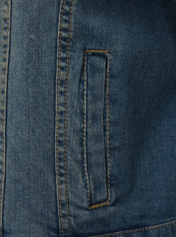 Svetlomodrá krátka rifľová bunda simply be.