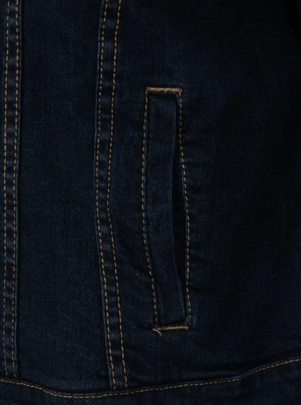 Tmavomodrá krátka rifľová bunda simply be.