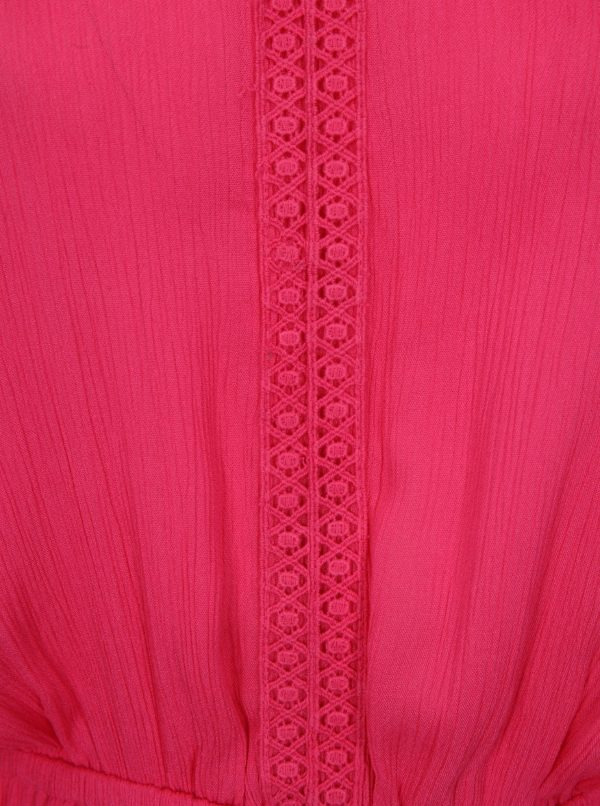 Ružové maxišaty simply be.