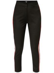 Čierne slim nohavice s vysokým pásom MISSGUIDED