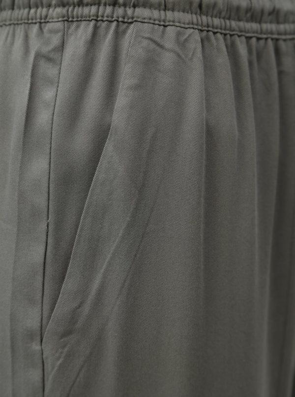 Zelené nohavice Jacqueline de Yong Capella
