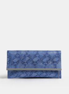 Modrá listová kabelka MISSGUIDED