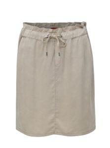 Béžová sukňa so zaväzovaním s.Oliver