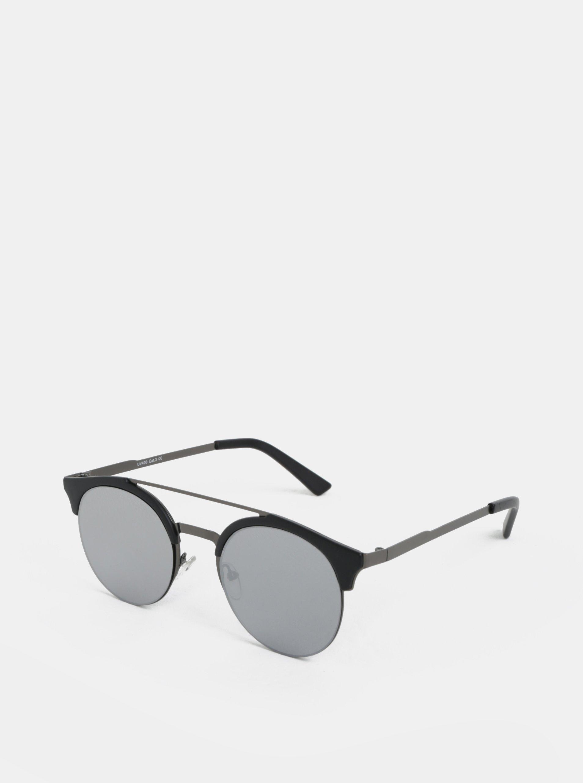 Čierne okrúhle slnečné okuliare ONLY   SONS Display  68070c8085c