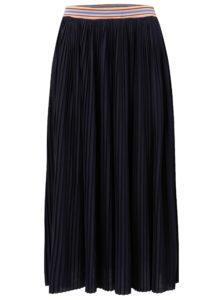 Tmavomodrá plisovaná sukňa Rich & Royal