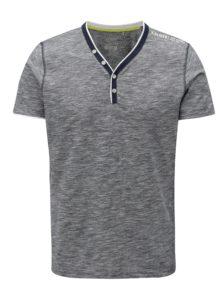 Tmavomodré pruhované pánske slim fit tričko s.Oliver