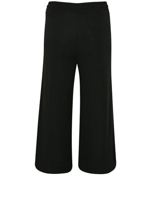 Čierne culottes s bielymi pruhmi Moss Copenhagen Seely
