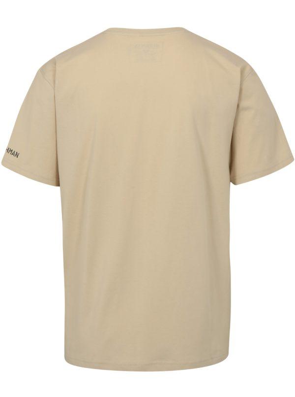 Béžové pánske tričko BUSHMAN Brady