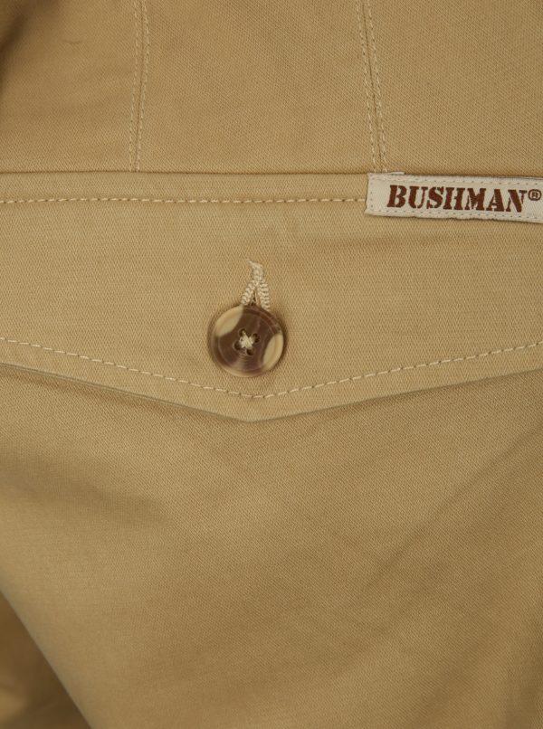 Béžové pánske kraťasy BUSHMAN Bishop
