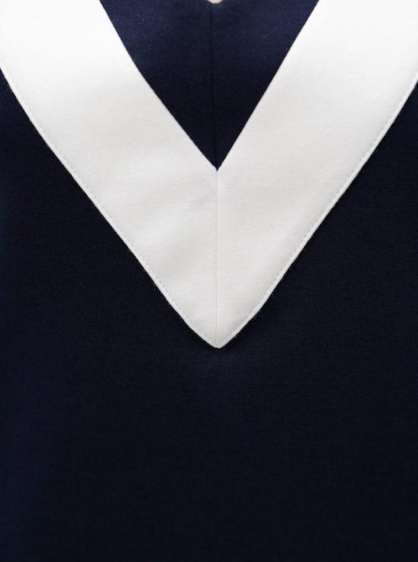 Bielo-modrý top Nautica