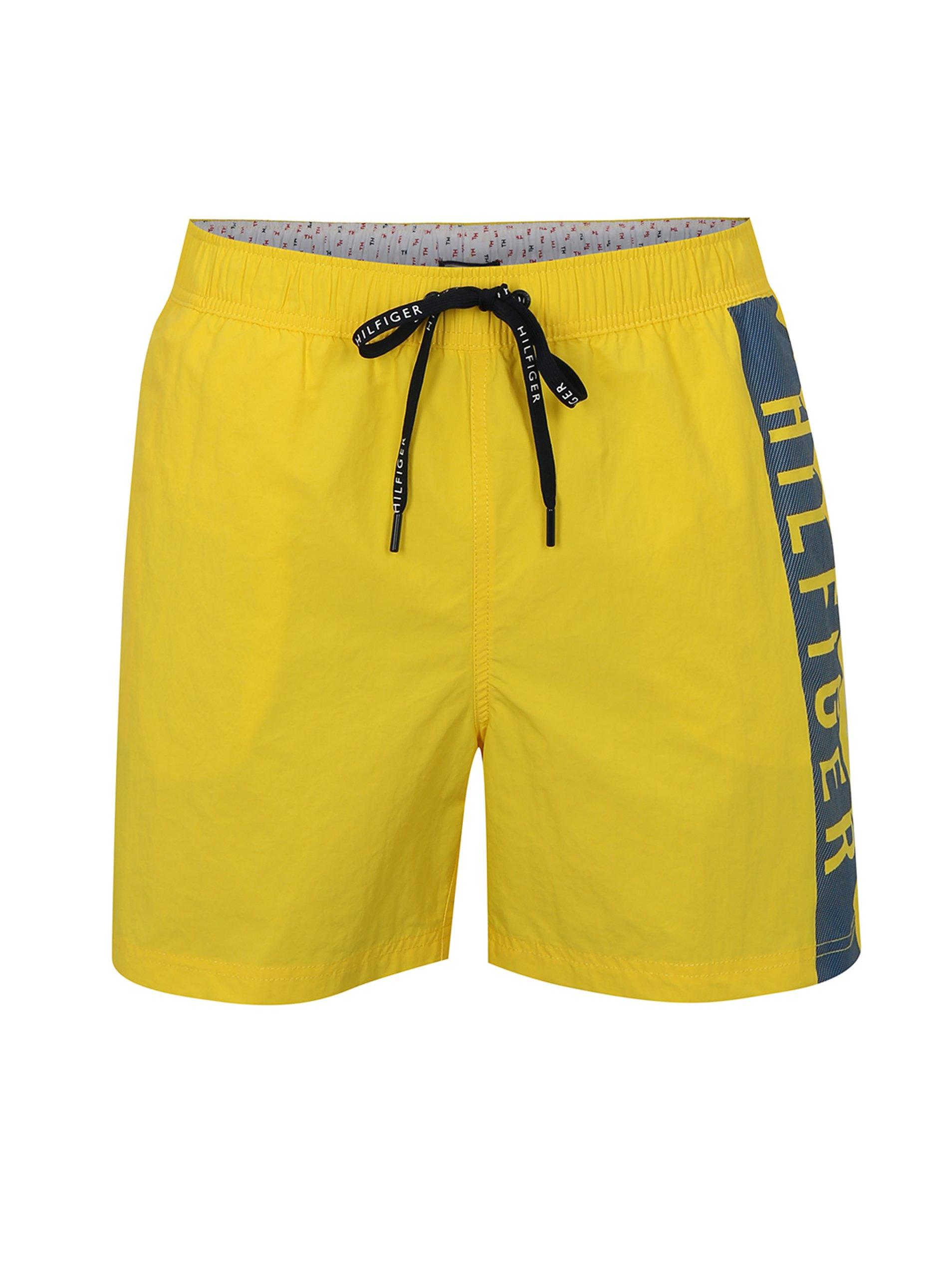 Žlté pánske plavky Tommy Hilfiger  1b9385a83b2