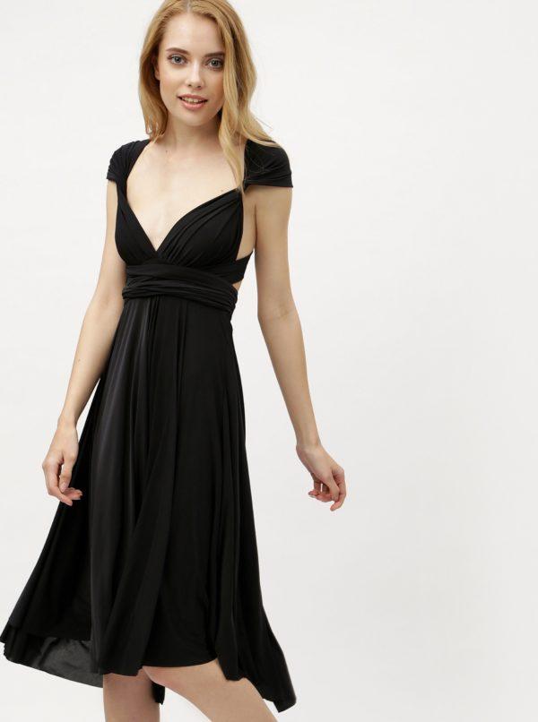 Čierne variabilné šaty/sukňa ZOOT