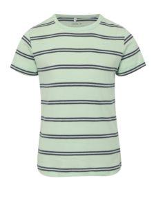 Modro-zelené chlapčenské pruhované tričko name it Villy