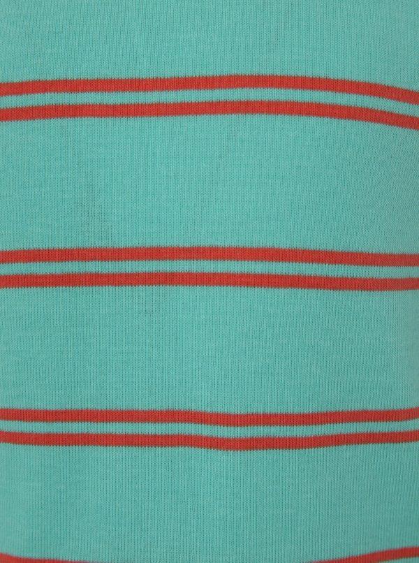 Červeno-modré chlapčenské pruhované tričko name it Villy