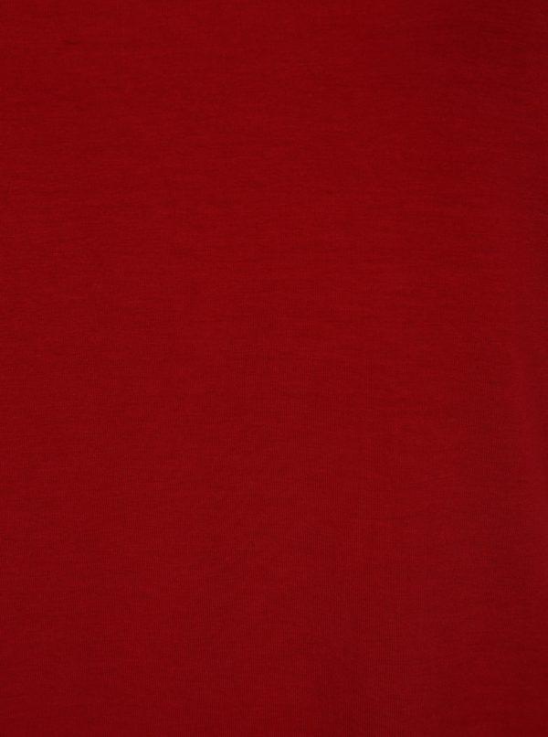 Červené tričko s prestrihom Ulla Popken