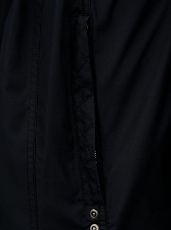 Tmavomodrá vodovzdorná parka so skrytou kapucňou Ulla Popken