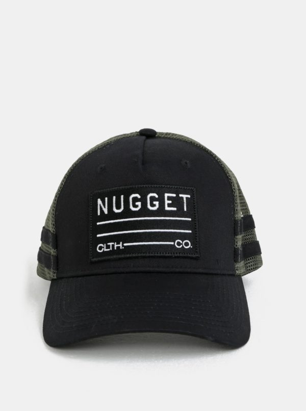 Čierna pánska šiltovka NUGGET Slope
