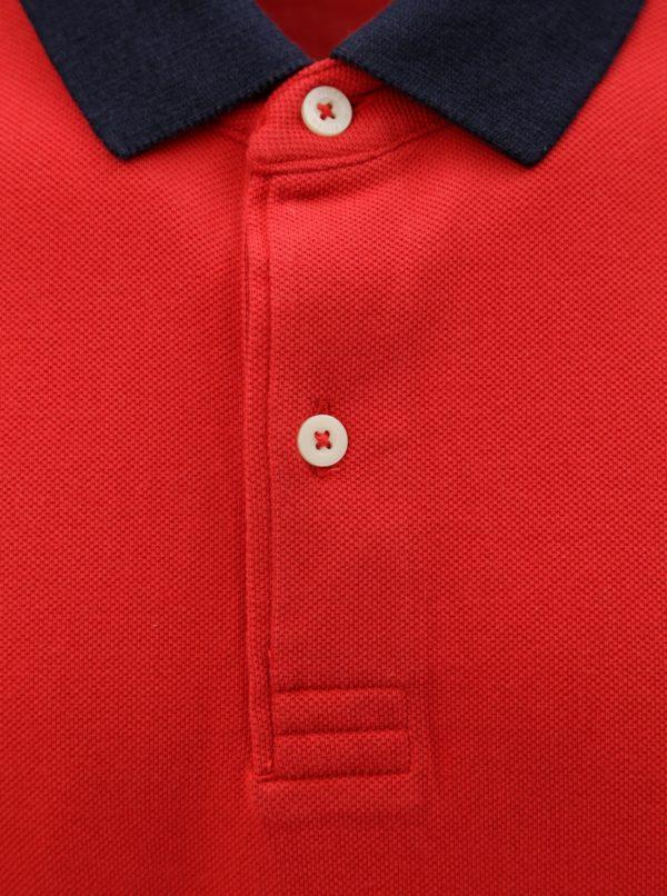 Červená pánska polokošeľa Tommy Hilfiger