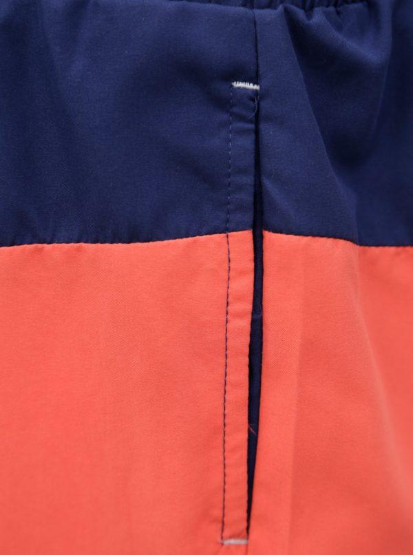 Červeno-modré pánske plavky M&Co