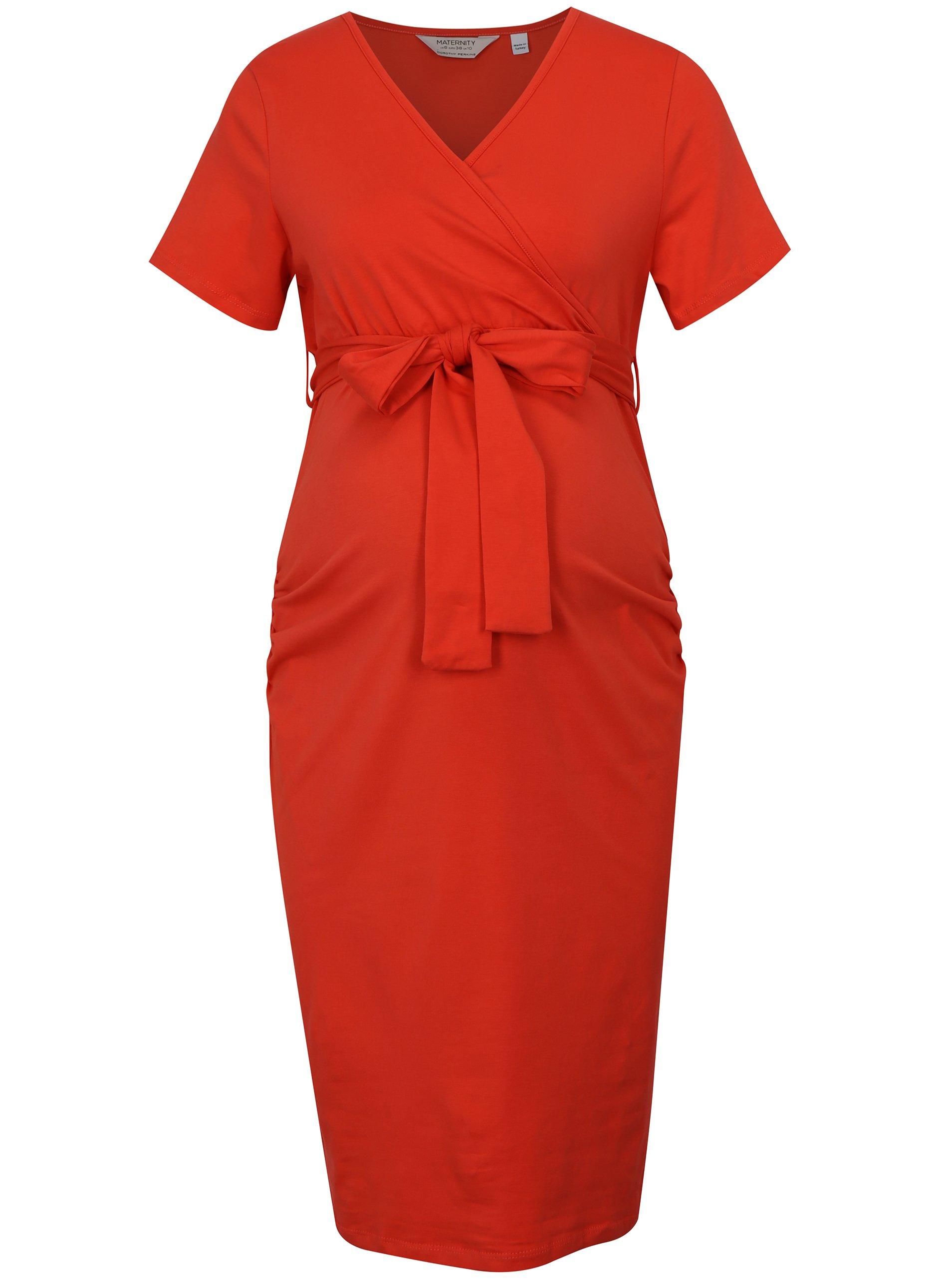 02b37349c517 Čierne tehotenské puzdrové šaty na dojčenie Dorothy Perkins Maternity