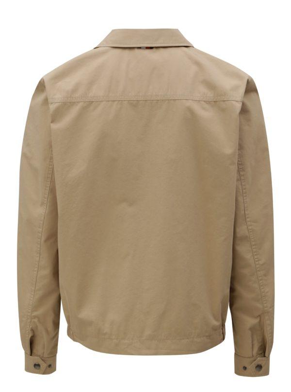 Béžová pánska bunda Tommy Hilfiger