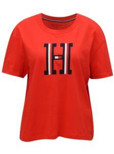 Červené dámske tričko Tommy Hilfiger