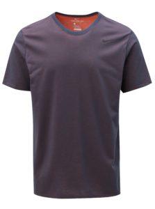 Fialové pánske funkčné tričko Nike