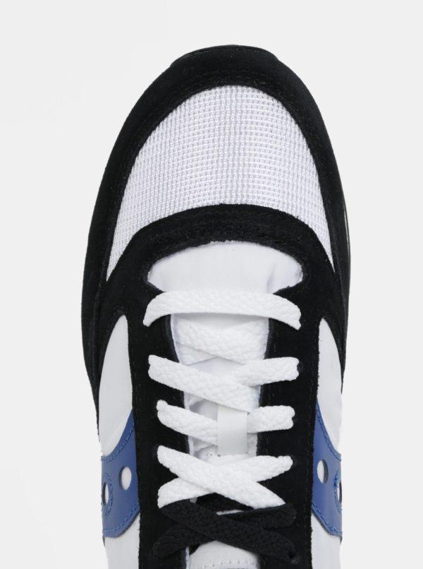Čierno-biele pánske tenisky Saucony Jazz O Vintage