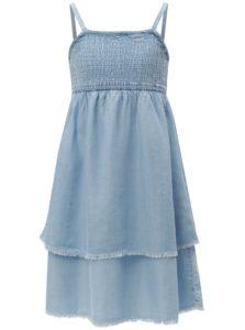 Modré dievčenské šaty name it Barina