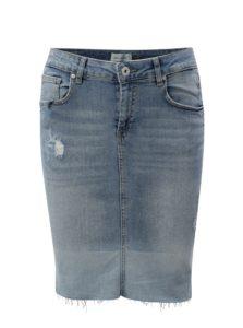 Modrá rifľová puzdrová sukňa Blendshe Gemini