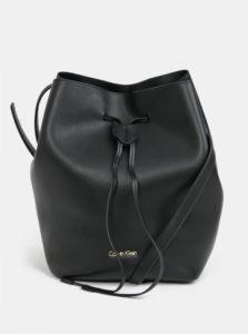 Čierna vaková kabelka Calvin Klein Jeans