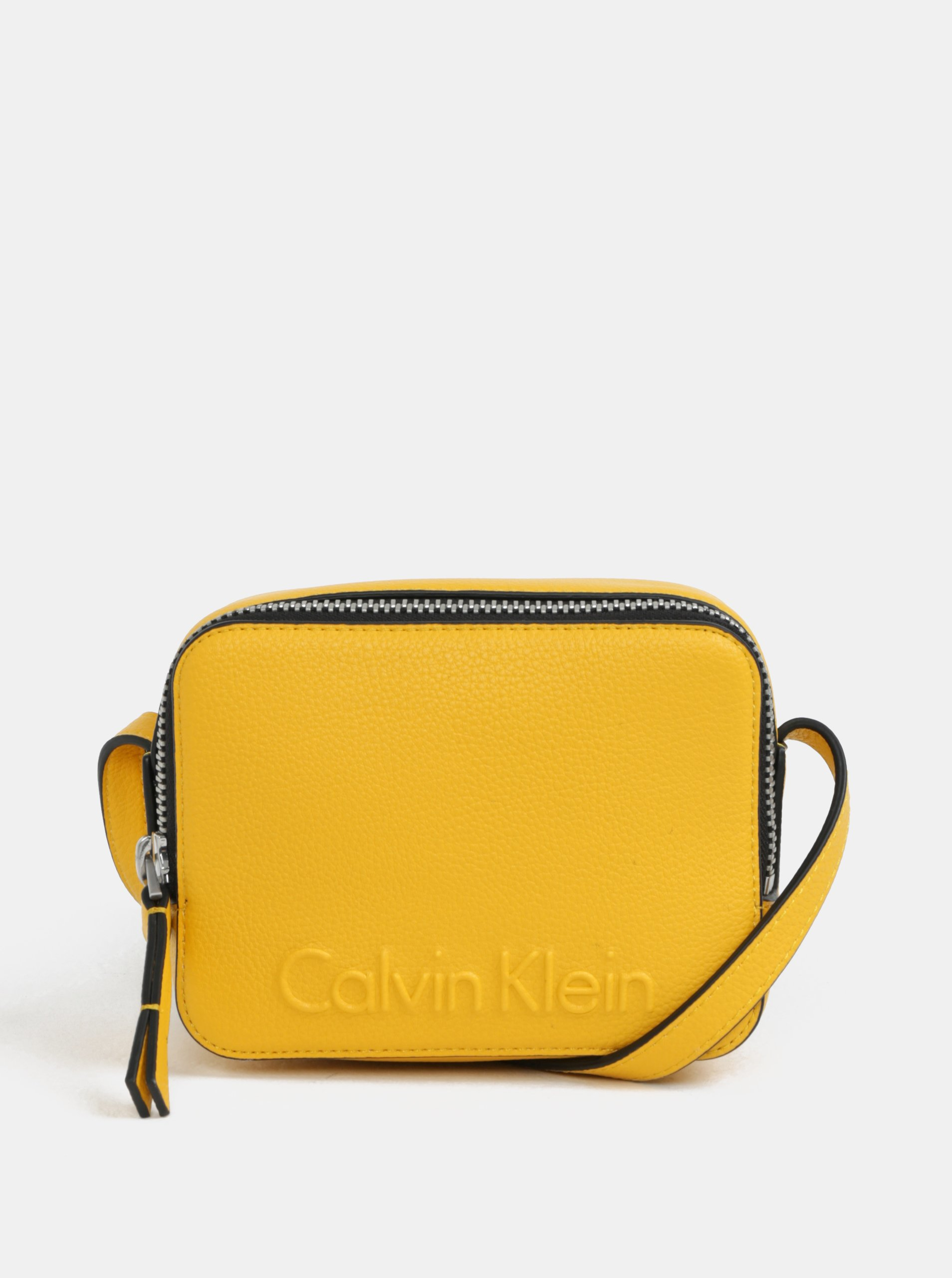 Žltá malá crossbody kabelka Calvin Klein Jeans  68e5790ed0d
