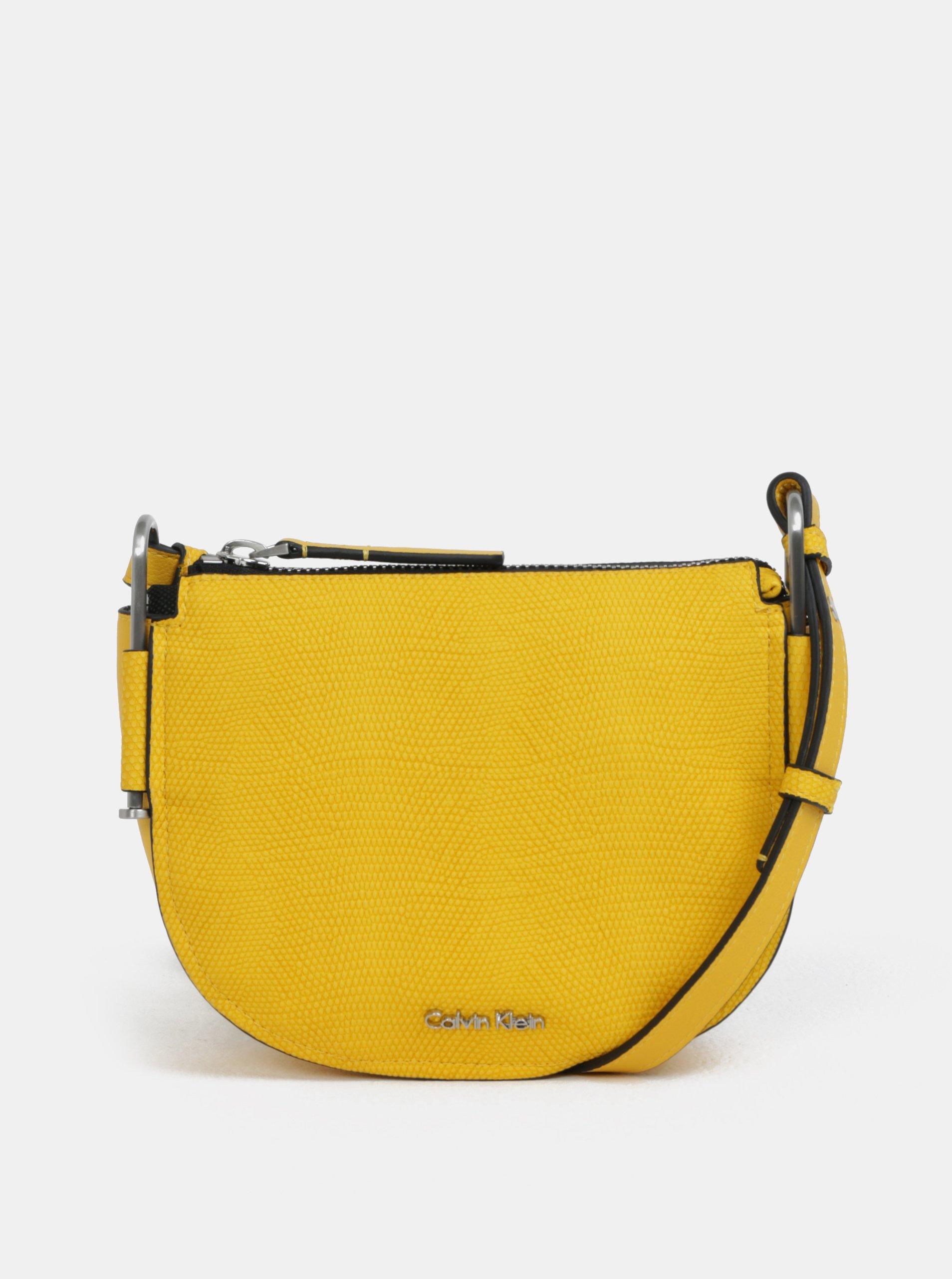 25dbe1b1ee Žltá crossbody kabelka Calvin Klein Jeans