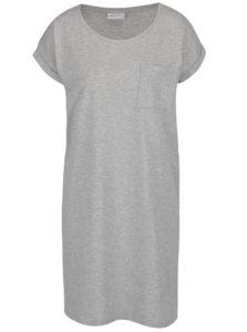 Svetlosivé voľné šaty s vreckom VILA Dreamers 40d0581d436