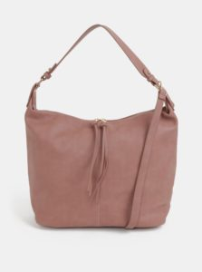 Staroružová kabelka s detailmi v zlatej farbe Dorothy Perkins