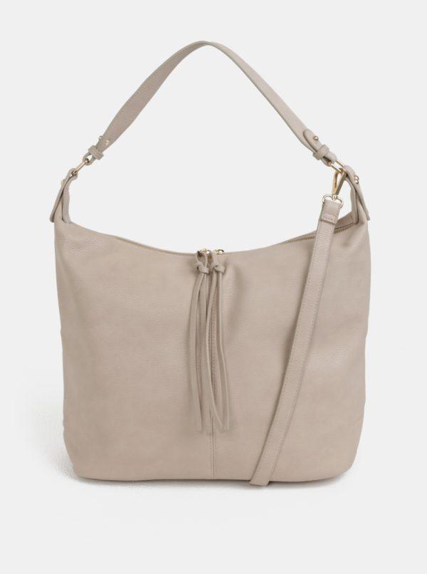Béžová kabelka s detailmi v zlatej farbe Dorothy Perkins