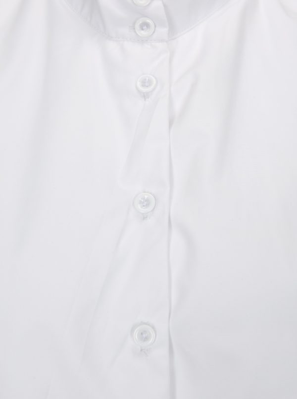 Biela blúzka s krátkym rukávom La femme MiMi