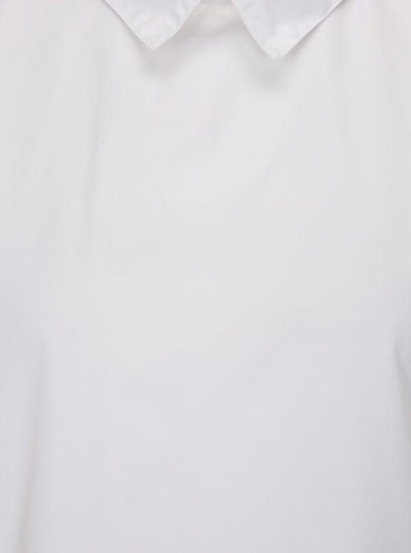 Biela blúzka s golierikom La femme MiMi