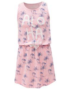 Ružové vzorované šaty s vreckami 5.10.15.