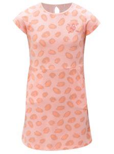 Oranžové vzorované šaty s vreckami 5.10.15.