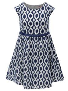 Bielo-modré vzorované šaty 5.10.15.