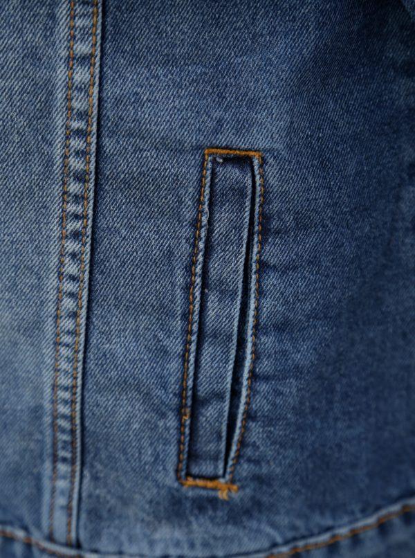 55227ba35d15 Modrá rifľová bunda Dorothy Perkins Petite