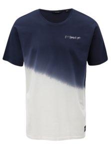 Bielo-modré tričko ONLY & SONS Dipz