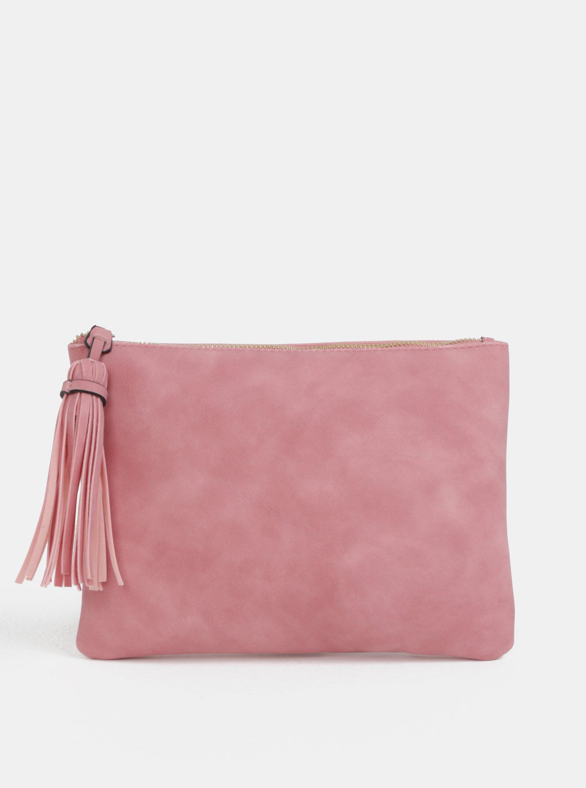 280fdcef9c Ružová listová kabelka so strapcom Dorothy Perkins