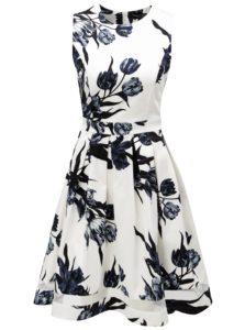 Modro-biele kvetované šaty Dorothy Perkins
