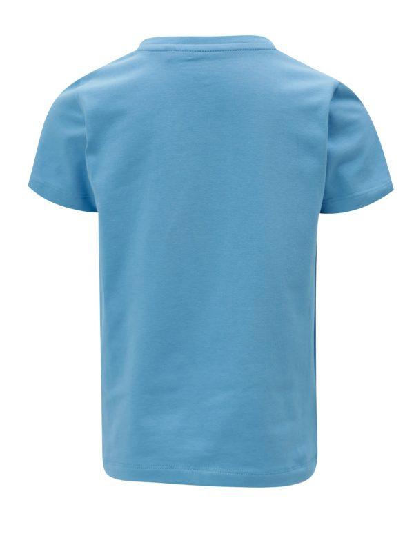 Modré chlapčenské tričko s potlačou name it Ted