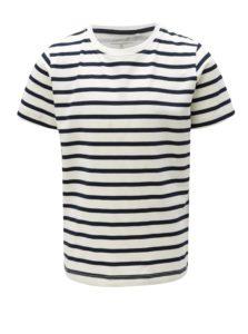 Modro-biele chlapčenské pruhované tričko name it Ted